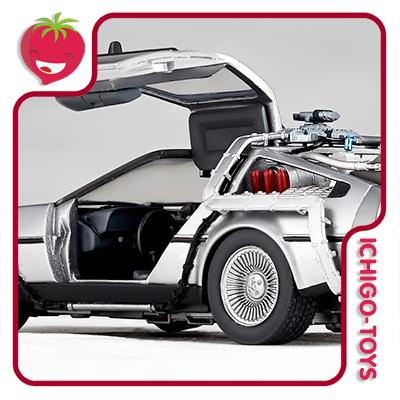 Revoltech Movie Revo 001 - DeLorean - Back to the Future  - Ichigo-Toys Colecionáveis