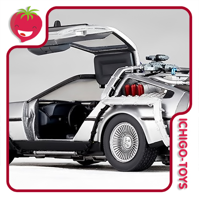 Revoltech Movie Revo 001 - DeLorean - Back to the Future  - Ichigo-Toys Colecionáveis