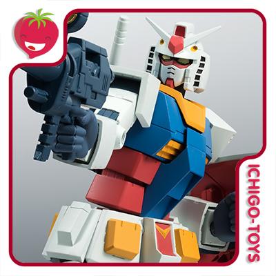Robot Damashii SIDE MS - RX-78-2 Gundam ver. A.N.I.M.E. - Mobile Suite Gundam  - Ichigo-Toys Colecionáveis