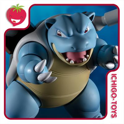 S.H. Figuarts - Blastoise Arts Remix - Pokémon  - Ichigo-Toys Colecionáveis
