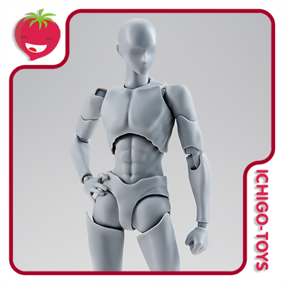 S.H. Figuarts - Body-kun Rihito Takarai DX Set Gray  - Ichigo-Toys Colecionáveis