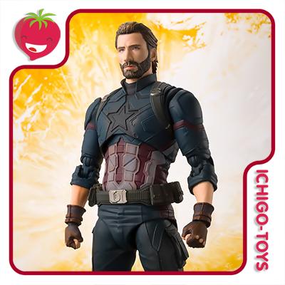 S.H. Figuarts - Captain America - Avengers: Infinity War  - Ichigo-Toys Colecionáveis