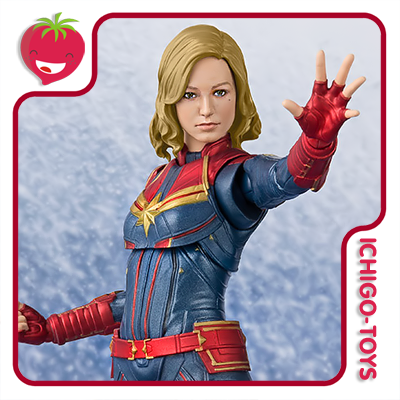 S.H. Figuarts - Captain Marvel - Captain Marvel  - Ichigo-Toys Colecionáveis
