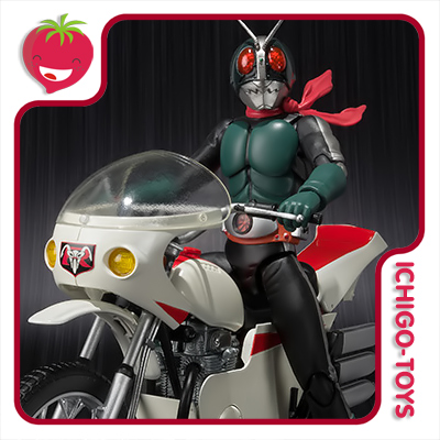 S.H. Figuarts - Cyclone Remodeling and Masked Rider 2 Old - Masked Rider  - Ichigo-Toys Colecionáveis