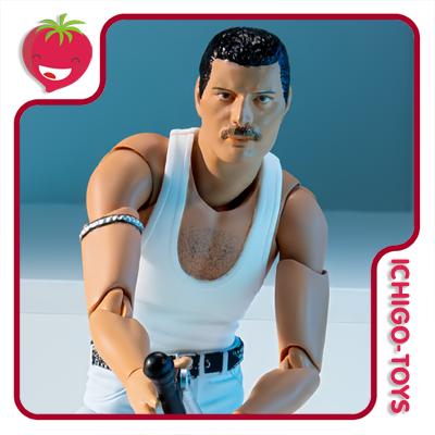 S.H. Figuarts - Freddie Mercury - Live Aid  - Ichigo-Toys Colecionáveis