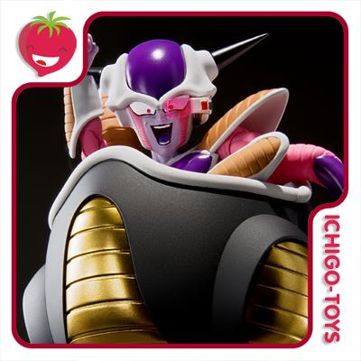S.H. Figuarts - Frieza First Form and Frieza Pod - Dragon Ball Z  - Ichigo-Toys Colecionáveis
