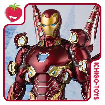 S.H. Figuarts - Iron Man Mark 50 Nano Weapon Set 2 - Avengers: End Game  - Ichigo-Toys Colecionáveis