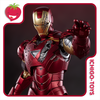 S.H. Figuarts - Iron Man Mark 6 (Battle Damage Edition) - Avengers  - Ichigo-Toys Colecionáveis