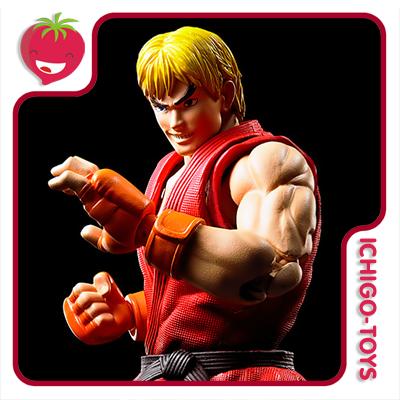 S.H. Figuarts - Ken Masters - Street Fighter  - Ichigo-Toys Colecionáveis