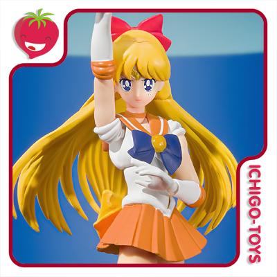 S.H. Figuarts - Sailor Venus Animation Color Edition - Sailor Moon  - Ichigo-Toys Colecionáveis