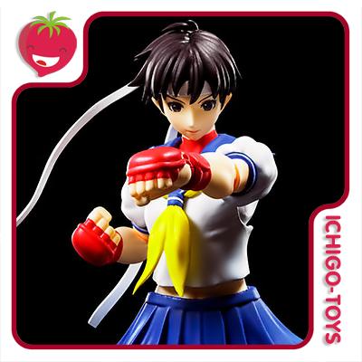S.H. Figuarts - Sakura Kasugano - Street Fighter  - Ichigo-Toys Colecionáveis