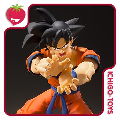 S.H. Figuarts - Son Goku (A Saiyan Raised on Earth) - Dragon Ball Z  - Ichigo-Toys Colecionáveis