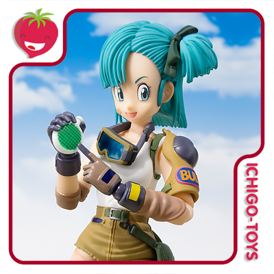 S.H. Figuarts Tamashii Web Exclusive - Bulma - Dragon Ball  - Ichigo-Toys Colecionáveis