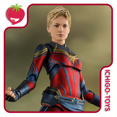 S.H. Figuarts Tamashii Web Exclusive - Captain Marvel - Avengers: End Game  - Ichigo-Toys Colecionáveis