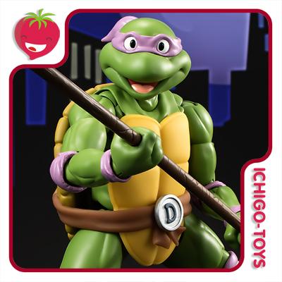 S.H. Figuarts Tamashii Web Exclusive - Donatello - Teenage Mutant Ninja Turtles  - Ichigo-Toys Colecionáveis