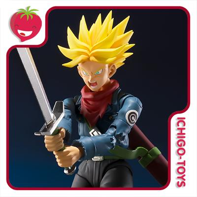 S.H. Figuarts Tamashii Web Exclusive - Future Trunks - Dragon Ball Super  - Ichigo-Toys Colecionáveis