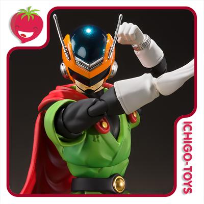 S.H. Figuarts Tamashii Web Exclusive - Great Saiyaman - Dragon Ball Z  - Ichigo-Toys Colecionáveis