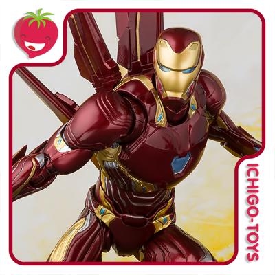 S.H. Figuarts Tamashii Web Exclusive - Iron Man Mark 50 Nano Weapon Set - Avengers: Infinity War  - Ichigo-Toys Colecionáveis