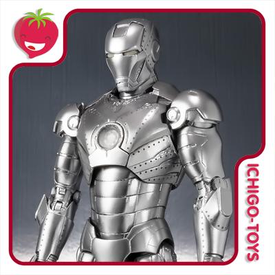 S.H. Figuarts Tamashii Web Exclusive - Iron Man Mk 2 - Iron Man  - Ichigo-Toys Colecionáveis