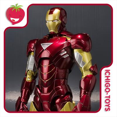 S.H. Figuarts Tamashii Web Exclusive - Iron Man Mark 6 - Iron Man 2  - Ichigo-Toys Colecionáveis