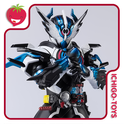 S.H. Figuarts Tamashii Web Exclusive - Masked Rider Cross-Zevol - Masked Rider Build  - Ichigo-Toys Colecionáveis