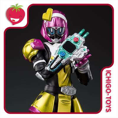S.H. Figuarts Tamashii Web Exclusive - Masked Rider Poppy Tokimeki Crisis Gamer Level X - Masked Rider EX-Aid  - Ichigo-Toys Colecionáveis