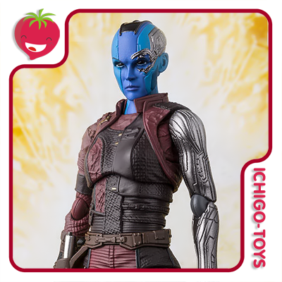 S.H. Figuarts Tamashii Web Exclusive - Nebula - Avengers: Infinity War  - Ichigo-Toys Colecionáveis