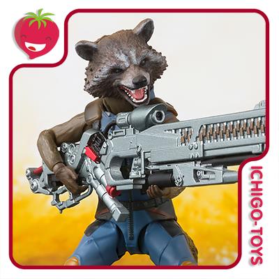 S.H. Figuarts Tamashii Web Exclusive - Rocket Raccoon - Avengers: Infinity War  - Ichigo-Toys Colecionáveis