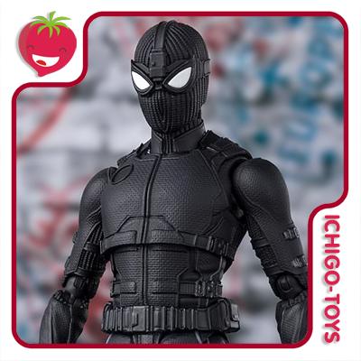 S.H. Figuarts Tamashii Web Exclusive - Spider-Man Stealth Suit - Spider-Man: Far From Home  - Ichigo-Toys Colecionáveis