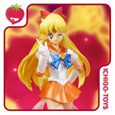 S.H. Figuarts Tamashii Web Exclusive - Super Sailor Venus - Bishoujo Senshi Sailor Moon  - Ichigo-Toys Colecionáveis
