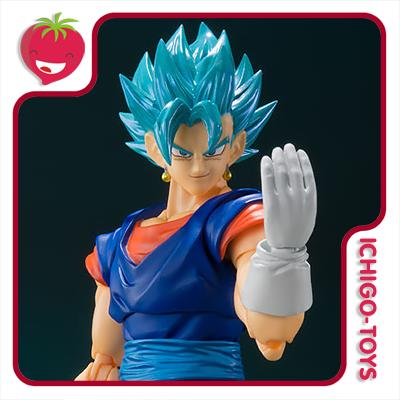 S.H. Figuarts Tamashii Web Exclusive - Super Saiyan God Super Saiyan Vegeto Super - Dragon Ball Super  - Ichigo-Toys Colecionáveis