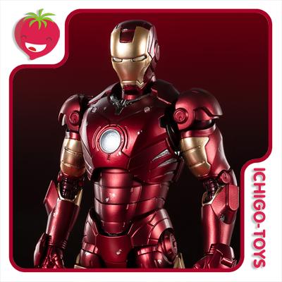 S.H. Figuarts Tamashii Web Exclusive / Tamashii Features 2020 - Iron Man Mark 3 Birth of the Iron Man Edition - Iron Man  - Ichigo-Toys Colecionáveis