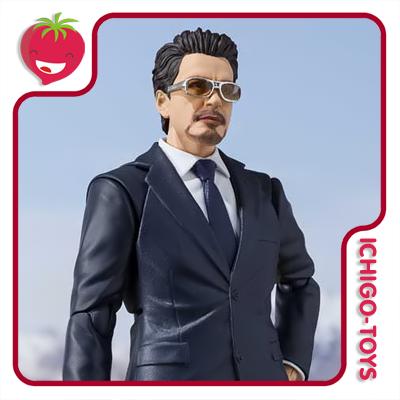 S.H. Figuarts Tamashii Web Exclusive - Tony Stark (Birth of the Iron Man) - Iron Man  - Ichigo-Toys Colecionáveis