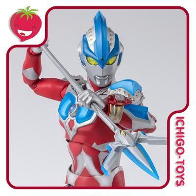 S.H. Figuarts Tamashii Web Exclusive - Ultraman Ginga Strium - Ultraman Ginga  - Ichigo-Toys Colecionáveis