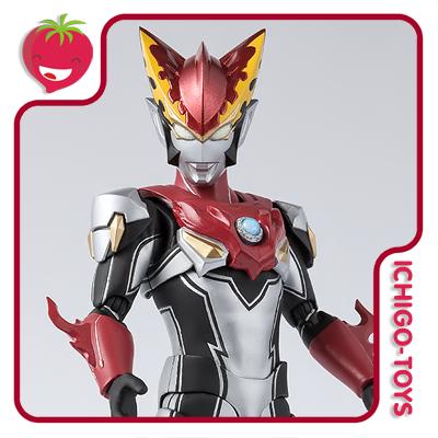 S.H. Figuarts - Ultraman Rosso Flame - Ultraman R/B  - Ichigo-Toys Colecionáveis