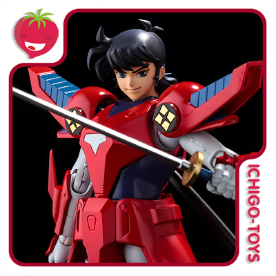 Sentinel - Ryo Sanada / Rekka no Ryo - Yoroiden Samurai Troopers  - Ichigo-Toys Colecionáveis