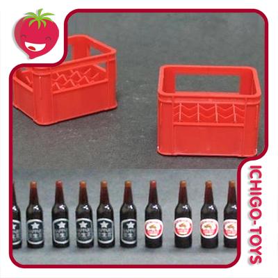 Set de Cerveja e Engradados - 1/12  - Ichigo-Toys Colecionáveis
