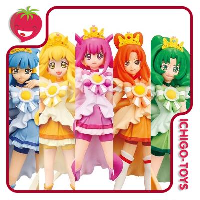 Smile PreCure! - Princess Form - Cutie Figure Set  - Ichigo-Toys Colecionáveis