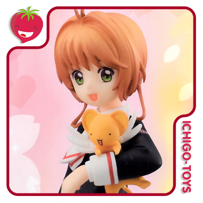 Special Figure - Sakura Kinomoto + Kero-chan - Tomoeda Junior High School - Cardcaptor Sakura Clear Card Arc   - Ichigo-Toys Colecionáveis
