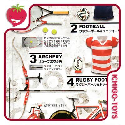 Sports Gear Collection - 1/12  - Ichigo-Toys Colecionáveis