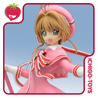 Super Premium Figure - Sakura Kinomoto - Cardcaptor Sakura Clear Card  - Ichigo-Toys Colecionáveis
