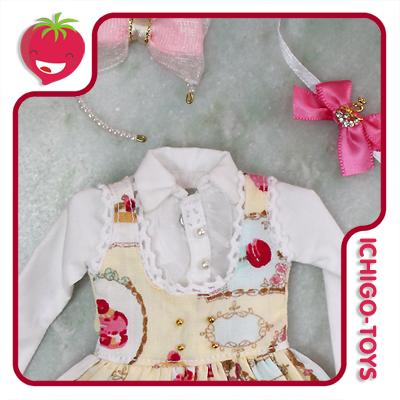 Sweets Dress Set - Yellow  - Ichigo-Toys Colecionáveis
