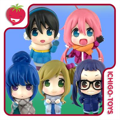 Yurucamp Figure Collection - Coleção completa! Laid-Back Camp  - Ichigo-Toys Colecionáveis