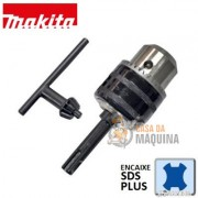 Mandril 1/2  com Chave e Adapatador SDS Plus - B-12887 - MAKITA