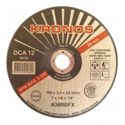 Disco Corte DCA12- 7 X 1,6MM - KRONOS