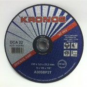 Disco Corte DCA22- 9 X 3,2MM - KRONOS