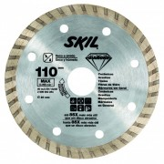 Disco Diamantado Turbo p/ Serra Mármore 110mm - 2608602284 - SKIL