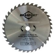 Disco de Serra Circular  12Pol 36 Dentes - BRASFORT