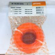 Fio de Nylon Redondo - 2,4 mm, x 87 metros  STIHL