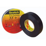 Fita Isolante Scotch 33 + Rolo  20MT-  3M